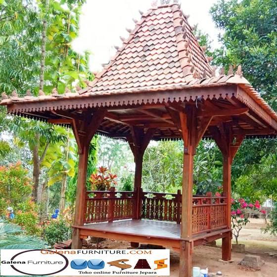 gazebo kayu nangka