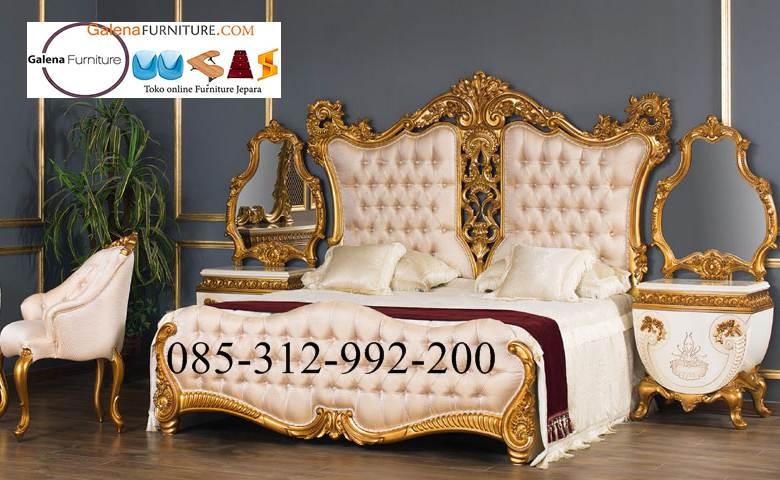 kamar set mewah antik klasik