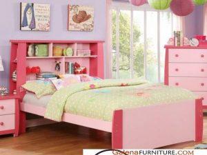 Jual Set Kamar Anak Warna Pink Perempuan