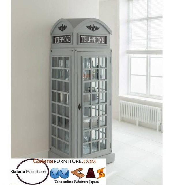 Lemari Hias Telephone di Medan