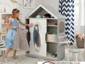 Lemari Pakaian Anak Unik Bentuk Rumah