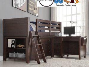 Jual Set Tempat Tidur Tingkat Bali Minimalis