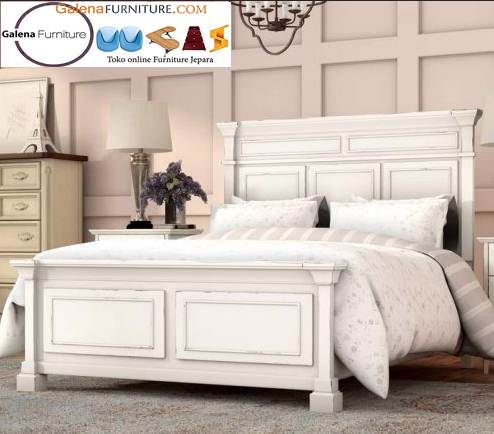 Jual Tempat Tidur Putih Duco Semarang