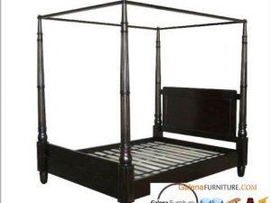 tempat tidur kanopi
