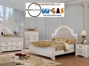 Set Kamar Mewah Jogja Klasik putih