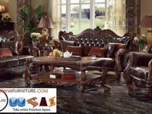 Sofa Mewah Bekasi Kayu Jati Ukiran