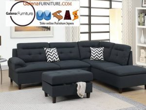 Kursi Sofa Sudut Bekasi Modern Terbaru