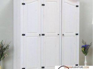 Lemari Pakaian Bekasi Duco Tiga Pintu