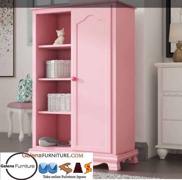 Lemari Anak Perempuan Bekasi Warna Pink