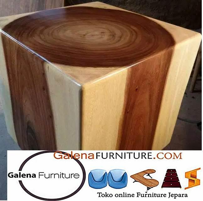 harga kursi balok kayu trembesi murah
