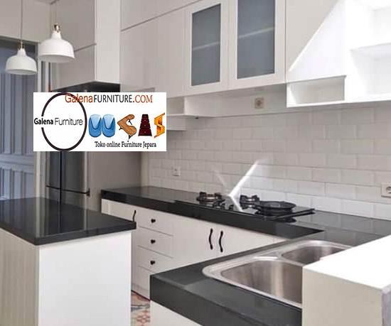 Jual Meja Dapur Marmer Desain Minimalis Modern