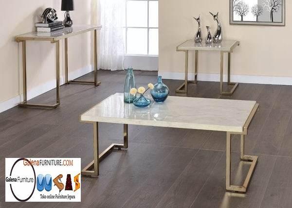 Model Meja Marmer Ruang Tamu Harga Murah