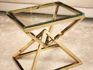 Harga Kaki Meja Stainless Gold Bentuk Terbaru Murah
