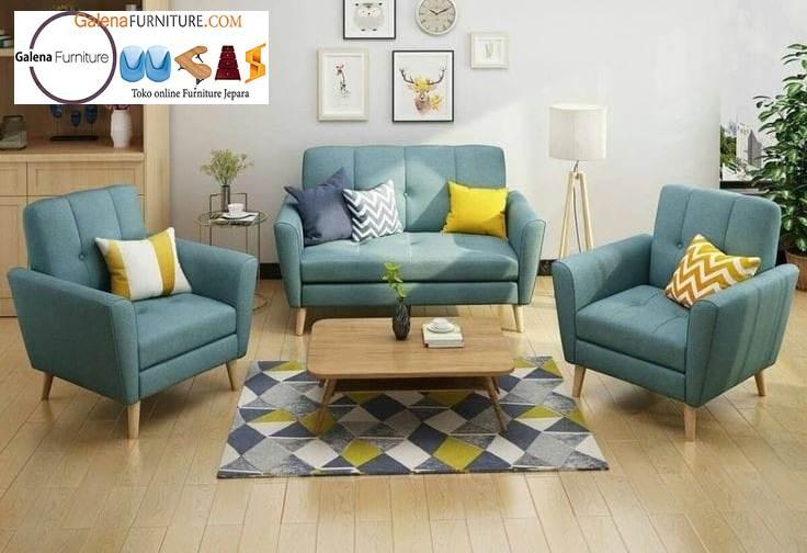 Jual Sofa Elegan Minimalis Ruang Tamu Terpopuler