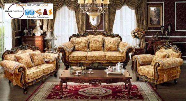 Jual Kursi Sofa Jati Klasik Desain terbaru