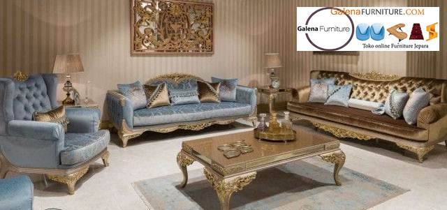 Jual Sofa Klasik Eropa Terpopuler Harga Murah