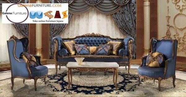Sofa Mewah Klasik Desain Mewah Terbaru