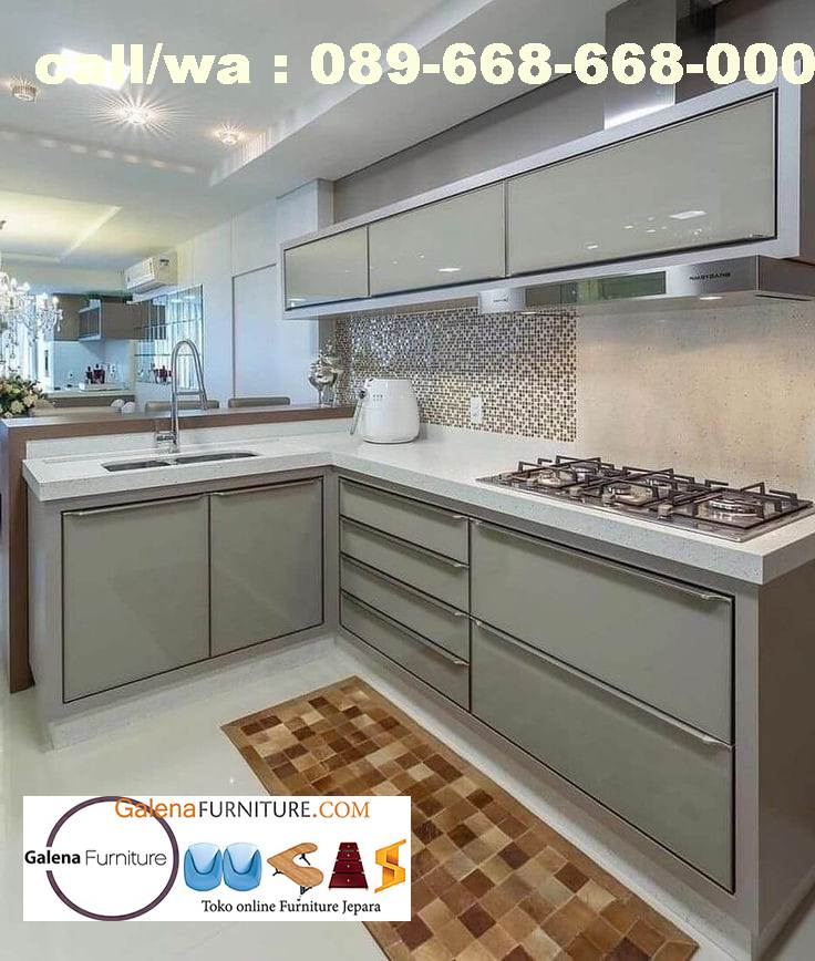 Jual Kitchen Set Hpl Kudus Desain Minimalis