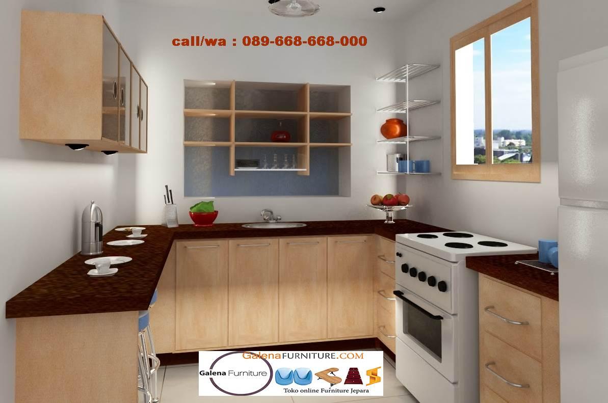 Jual Kitchen Set Semarang Desain Terbaru